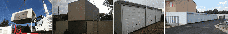 Construire un lot de garages