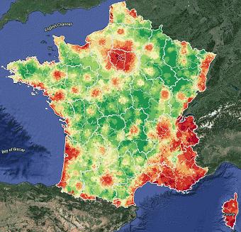 Estimation du prix de l'immobilier en France